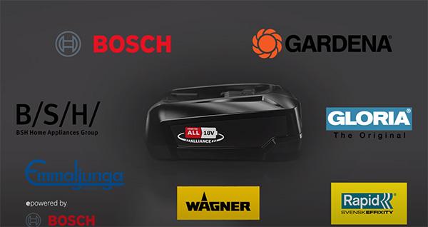 Bosch 18V Cordless Power Tool Alliance Tool Brands