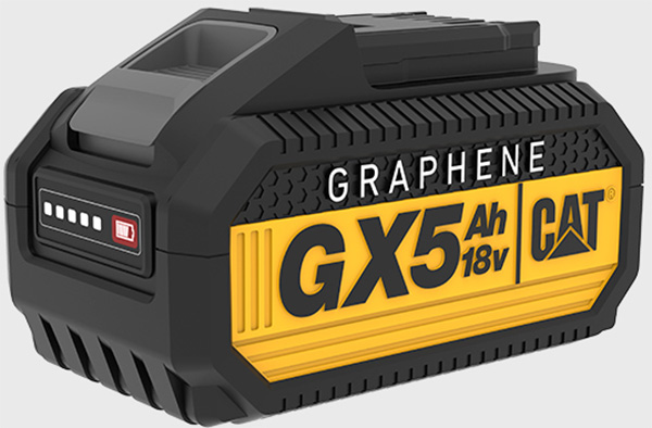 CAT 18V Cordless Power Tool Graphene Battery