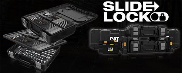 CAT Slide Lock Tool Boxes
