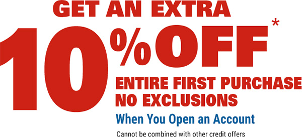 Harbor Freight Credit Card Opening Offer
