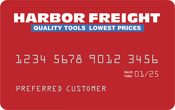 Harbor Freight Credit Card