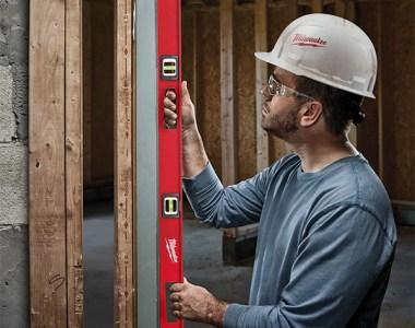 Milwaukee I-Beam Level Plumb Applications