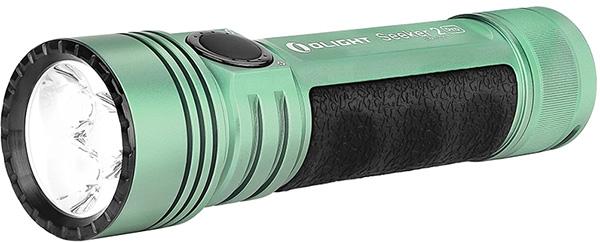 Olight Flashlight Flash Sale 7-20-20 Seeker 2 Pro Mint Green Angled