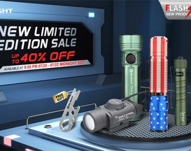 Olight Flashlight Flash Sale 7-20-20