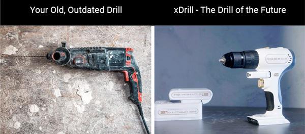 Robbox xDrill Outdated Drill Futuer Drill Comparison