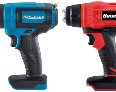 Harbor Freight Hercules and Bauer Cordless Heat Guns