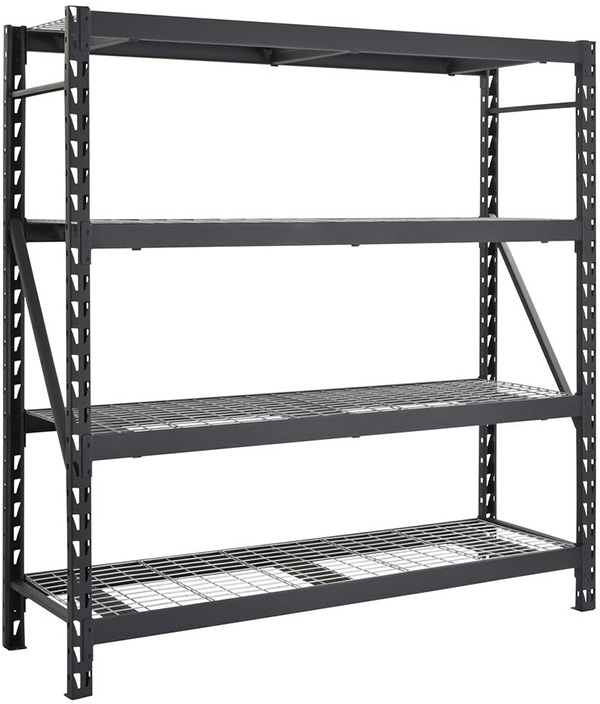 Husky Heavy Duty Steel Storage Rack at Home Depot