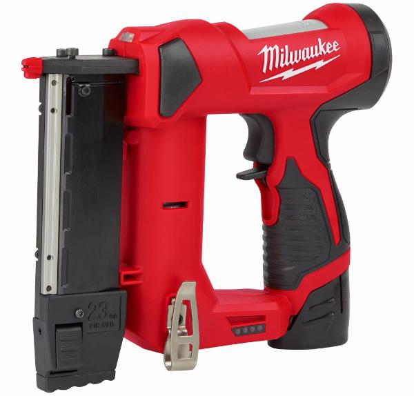 Milwaukee M12 23 Gauge Pin Nailer Hero