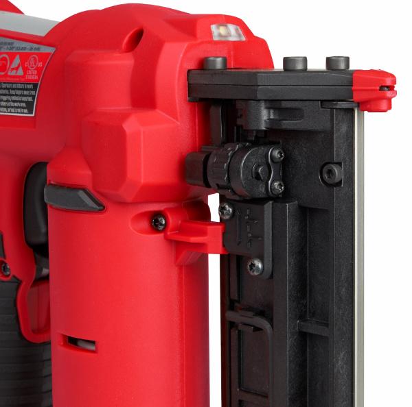 Milwaukee M12 23 Gauge Pin Nailer Side View