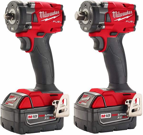Milwaukee M18 Fuel Compact Impact Wrenches 2854-2855