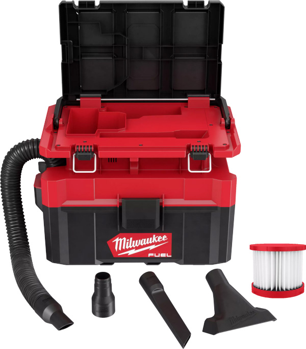Milwaukee Packout Vacuum 0970-20 Accessories