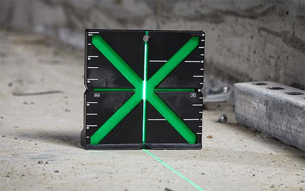 Milwaukee Green Laser Target