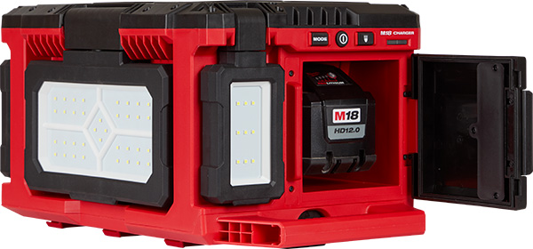Milwaukee Packout LED Worklight Charger