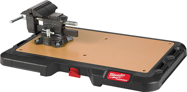 Milwaukee Packout Worktop with Vise