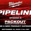 Milwaukee Pipeline 2020 Episode 2 Packout Tool Storage