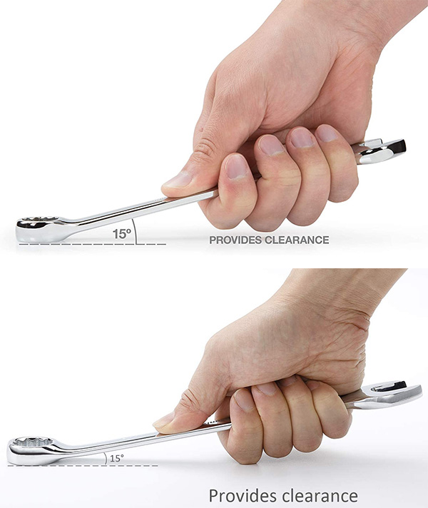 Tekton vs Amazon Combination Wrench Clearance Images