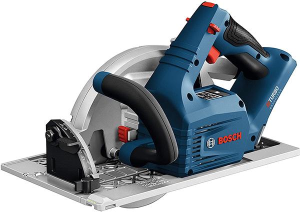 Bosch BitTurbo 18V Cordless Circular Saw GKS18V-25GCN Side View