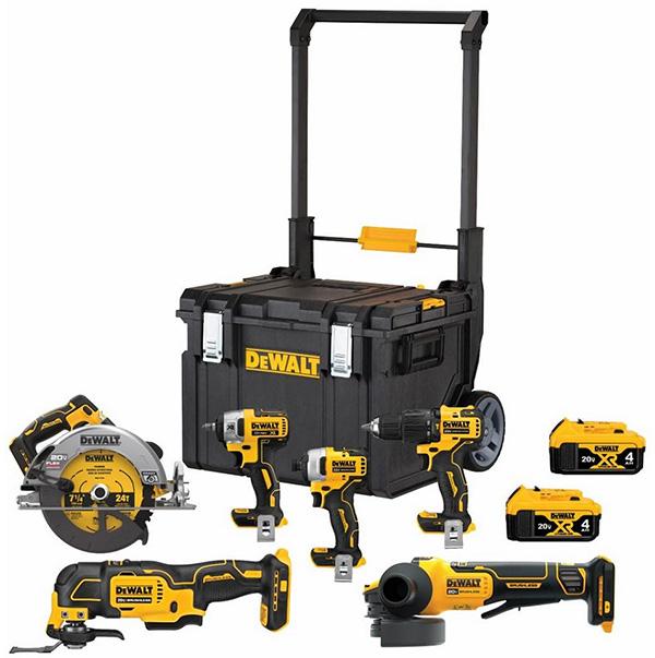 Dewalt DCKTS600M2 6pc Cordless Power Tool Combo Kit Home Depot Black Friday 2020 Deal
