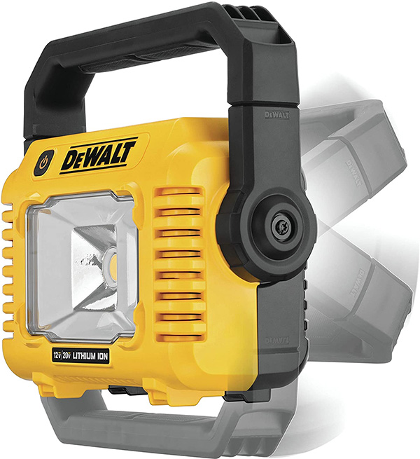 Dewalt DCL077B Cordless LED Worklight Rotating Handle