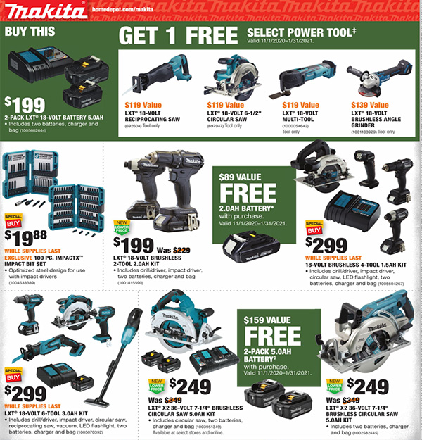 Home Depot Black Friday 2020 Tool Deals Page 14
