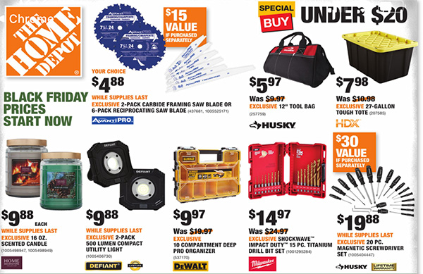 Home Depot Black Friday 2020 Tool Deals Page 17