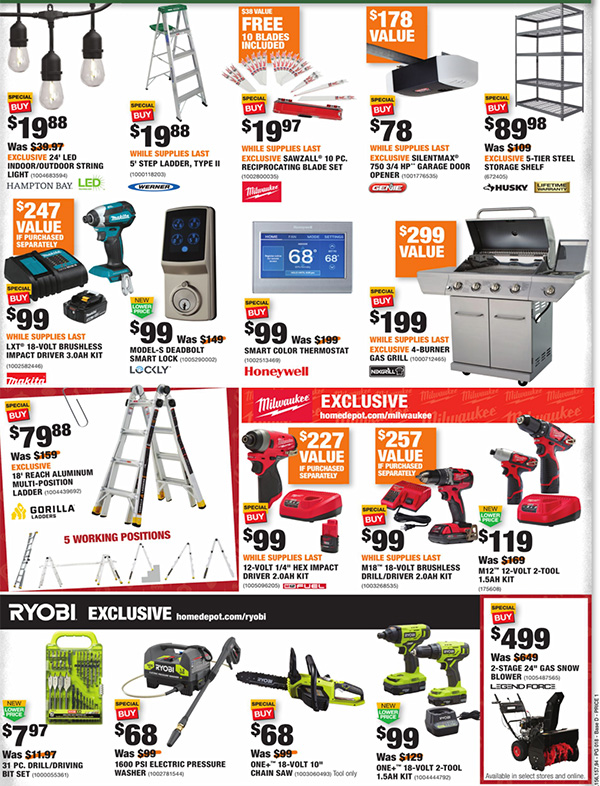 Home Depot Black Friday 2020 Tool Deals Page 18