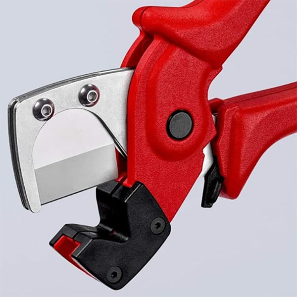 Knipex Tubing Cutters Square Blade Closeup