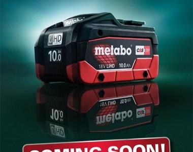 Metabo 18V Compact 10Ah Battery