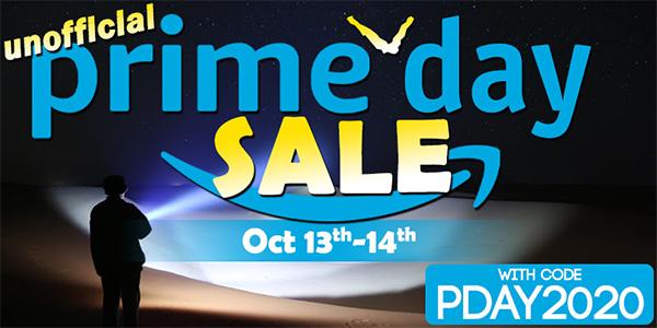 NiteCore Prime Day LED Flashlight Deals