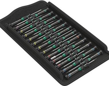 Wera 25pc Kraftform Micro Precision Screwdriver Set