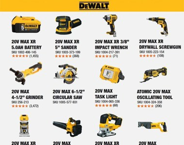 Dewalt 20V Max Black Friday 2020 Cordless Power Tool Starter Kit Free Tool Offer Home Depot