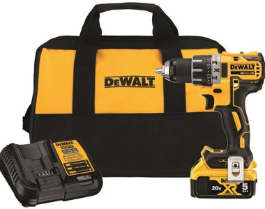 Dewalt DCD791P1 20V Max Cordless Drill Kit Promo Black Friday 2020