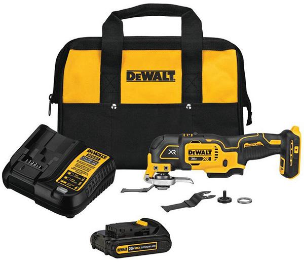 Dewalt DCS356D1 Oscillating Multi-Tool Kit