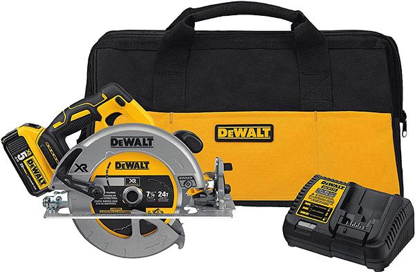 Dewalt DCS570P1 Cordless Circular Saw Kit