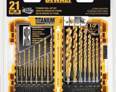 Dewalt DW1361 21pc Drill Bit Set