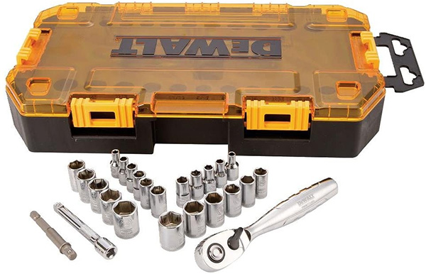 Dewalt Mechanics Tool Set in Case