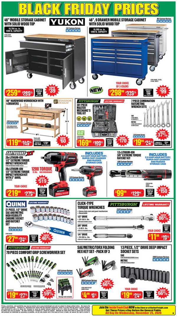 Harbor Freight Black Friday 2020 Tool Deals Page 6