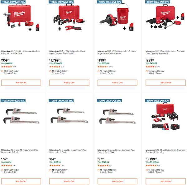 Home Depot Milwaukee Tool Deals of the Day 11-11-2020 Page 3