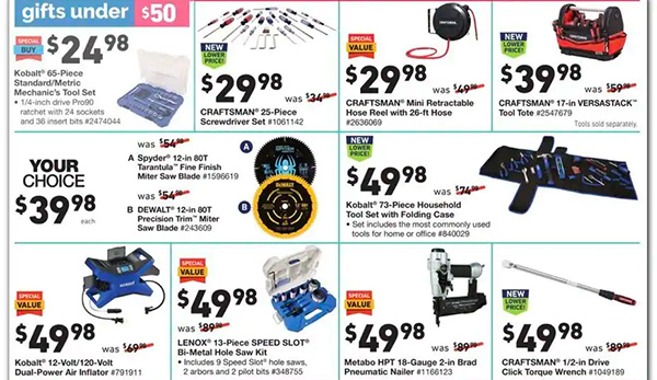 Lowes Black Friday 2020 Tool Deals Page 12