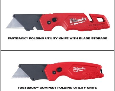 Milwaukee FastBack Utility Knife 2-Pack 2020 Holiday Promo