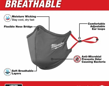 Milwaukee Tool Face Mask