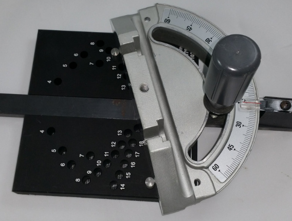Using the Miter Set Segments Gage
