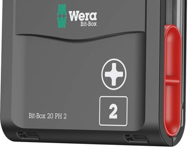 Wera Bit Box with Phillips Screwdriver Bits