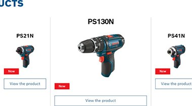 Bosch 12V Max Cordless Power Tools Bare Tools 2021