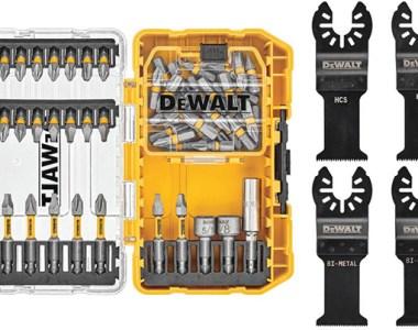 Dewalt Screwdriver Bit Set and Oscillating Multi-Tool Bundle DWAO50SET