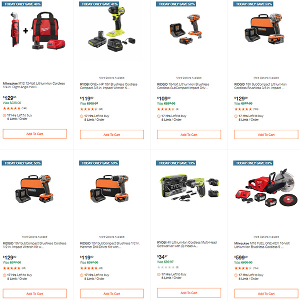 Home Depot Tool Deals of the Day 12-14-2020 Page 5
