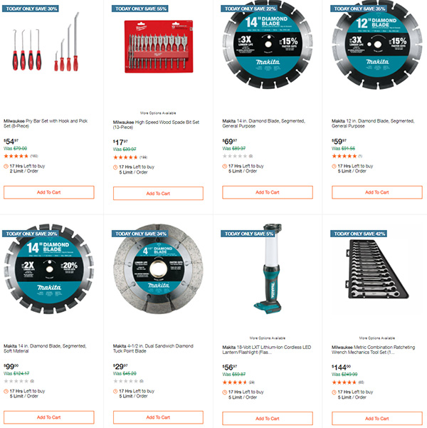 Home Depot Tool Deals of the Day 12-14-2020 Page 8