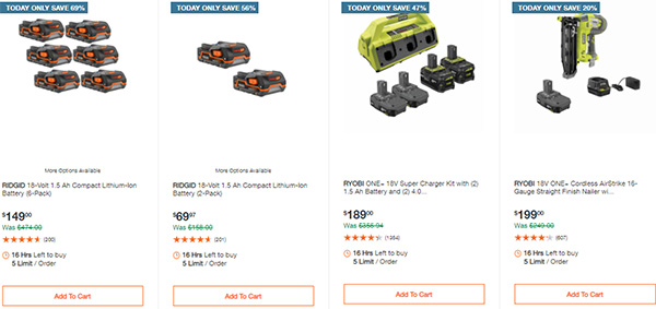 Home Depot Tool Deals of the Day 12-28-20 Page 6