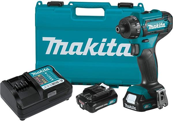 Makita 12V Cordless Screwdriver Kit