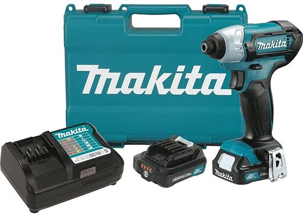 Makita 12V Max Cordless Impact Driver Kit